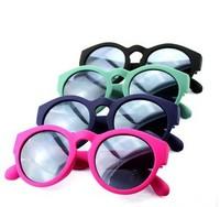 free shipping men and women's sunglasses Korean retro fashion round-framed cool sunglasses fashion eyewear
