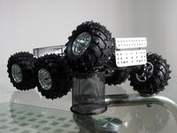 DAGU educational robot 6WD wild thumper chassis acessorios arduino 34:1