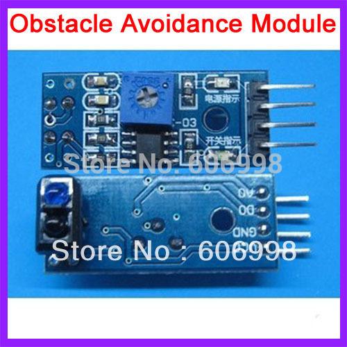 2pcs lot Obstacle Avoidance Module Tracing Sensor TCRT5000 Infrared Reflection Sensor