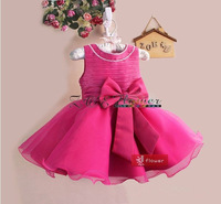 Free shipping! Wholesale! Hot sales! 5 sets/lot. Pearl bow dresses of the girls. The skirt with shoulder-straps. Princess dress.