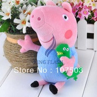 "HOT sale Pig Peppa Toy George Pig Plush Toy george pig dolls Stuffed Plush Cartoon Plush Kids Gift 19cm/7.4"" 20012"