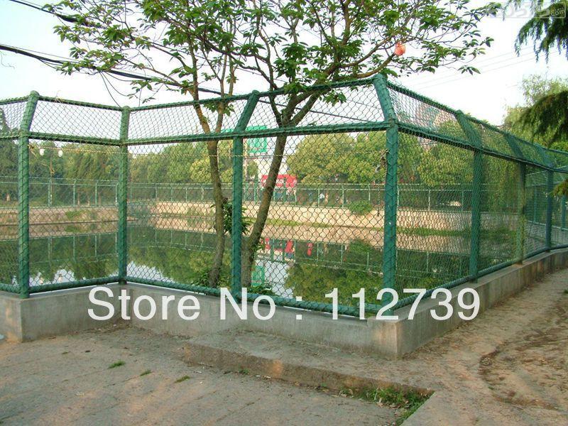 Lake Frame Chain Link Fence ( Fence Post + Diamond Mesh Panel)(China (Mainland))