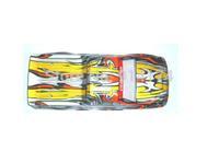 1/10 body shell for  henglong 3851-2 1/10 RC Monster truck 2pcs/lot free  shipping