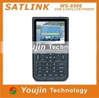 Original Satlink WS-6906 3.5 LCD DVB-S FTA Digital Satellite Signal ws 6906 satellite Finder Meter