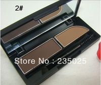 New arrival!!!MC 2 Color Eyebrow Enhancer/brow powder Makeup Make Up Palette KiT for gift Free Shipping