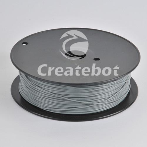 Пластмасса Gray Filament PLA For 3D Model Printer 1KG/Spool