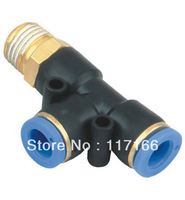 Free shipping Pneumatic Quick Connector PDseries tube(hose) fittingsPD8-01 pneumatic accessory  I.D 8MM thread G1/8