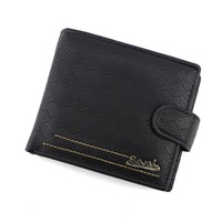 2014 Brand Designer Money Clips Personality Wallet man Purse pu Clip Men Card holder free shipping