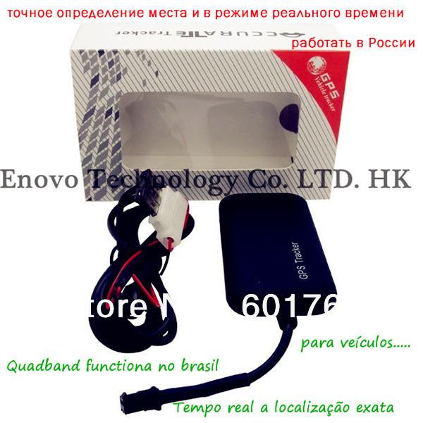 Frete gratis Rastreador Moto GPS Tracker satelite builtin antenna anti roubo motocicleta lokator treker suivi vehicule velo auto(China (Mainland))