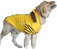 Free Shipping Spring Autumn Large Dog Clothes Dog Basic Hoodie Cotton Fleece Jacket with Hood Large Dog Clothing Outdoor Wear