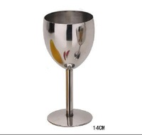 17cm Tall stainless steel goblets