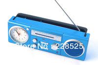 Portable Radio  Portable clock radio  Quartz Clock  FM AM Radio  Desktop Radio  Snooze Alarm