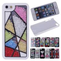 Original Luxury Diamond Swarovski Crystal Bling Hard Case Back Cover For Apple iPhone 5 5S 5G