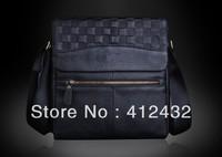 Brand design genuine leather man bag cowhide shoulder bag messenger bag male dress briefcase cow leather bag free shipping