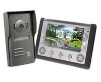 "Wholesale Free Shipping Wired 7"" LCD Video Intercom Door Phone Doorbell Security System IR Camera Night Vision Door Bell"