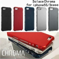 2014 new luxury brand design solace chroma slim ultra thin Aluminum metal frame case for iphone5 for iphone 5S 5