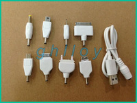 USB Multi Functional Charger Cables Connector Adapter 8 in 1 suitable for all kinds of electronic products charging 30pcs/lot