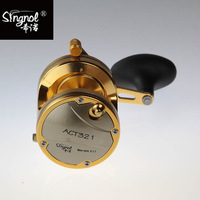 Free Shipping ACT321 Trolling Fishing Reel 4BB For Saltwater Fishing Tackle Bait Casting Reel