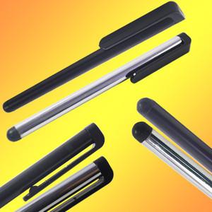 Free Shipping 10pcs/lot Aluminum Capacitive Stylus Pen For APPLE iPHONE IPOD TOUCH iPAD PDA PHONE 6969(China (Mainland))