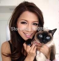 5SET retail packing  Pet cat Nail Sets Soft Claws Nail Cap Paw Caps Pet Nail Cover 6 Colors 20pcs/Card + adhensive