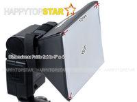 Wholesale 10pcs 100% NEW! 13 x 10cm Pixco Universal Portable Flash Diffuser for C/ N/S/DSLR flash Speedlite