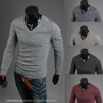 2014 Мужчины Новый горячий Продажа Тонкий Повседневная свитер Пуловеры M / L / XL / XXL Оптовая