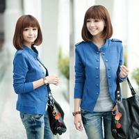 Blazer spring and autumn clothing plus size slim cardigan women's blazer womens blazers 2014