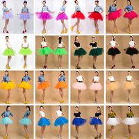 Dance costume clothes wedding dress gauze bitter fleabane short skirt all-match 24 bust skirt