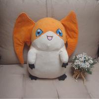 Handmade Digimon Adventure Patamon plush Toys Shakomon Dolls Kids gift 45CM