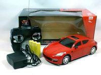 Free shipping 1: 24 RC car with headlights child toys
