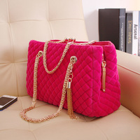 2014 wedding dress winter female bag bridal fashion women's handbag portable chain shoulder cross-body bag bolsas femininas