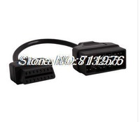 For Toyota 22 Pin to OBD OBDII 16 Pin cable use OBD OBDII diagnostic tools working with your Toyota vehicles