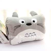 Grey cat pillow warm hand winter cushion stuffed toy best gift soft comfortable high grade 30*20 cm free shipping factory price