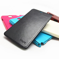 Free Shipping (5pcs/lot) Top Quality Series Crystal striae leather case for Huawei G520 case