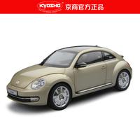 Kyosho vw beetle alloy artificial car model silver