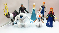 New 2014!princess doll, FROZEN,7pics/set ,big size,doll for girls,free shipping
