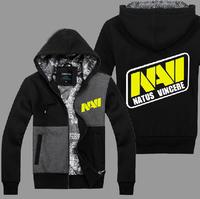 Free HKPOST NAVI Natus Vincere TEAM men hoodie sweatshirt game team coat men's fleece game man