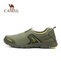 Camel outdoor walking shoes male light breathable wading shoes walking shoes a412330001