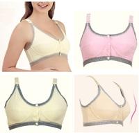 Free Shipping Useful Pregnant Women Maternity Underwear Elasticity Open Button Nursing Bra