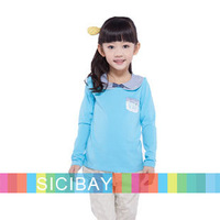 Cute Tshirt for Girls Spring Wear Baby Kids Long Sleeve TEES,Princess Style,Free Shipping K5279