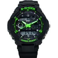 SKMEI Sport Watch For Men Brand Multifunction Watch Led Digital Climbing Dive Watch Shock Resistant Wristwatch 30M Waterproof