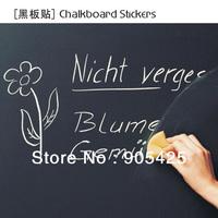 New fashion easy chalkboard Vinyl wall Sticker 15pcs free shipping