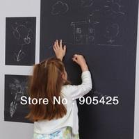 Wall Sticker Vinyl Removable Blackboard Chalkboard sticker Decal Calk Board 15pcs free shipping