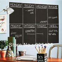 Large Blackboard Removable Vinyl Sticker chalkboard Decal sticker Peel & Stick on wall paper Mural Decal blackboard sticker