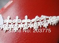Zakka Style 100% Cotton Lace Ribbon Sewing Tape, white Lace Webbing, Cluny Lace Trim (25mm x 30yards) Free shipping