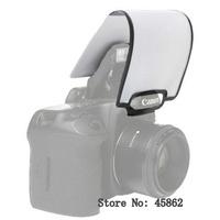10pcs Universal Camera Pop-Up Flash Light Diffuser Soft Box For d80 d90 d7000 600d 650d 60d 70d Free Shipping