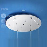 White paint disc xidingdeng disk lighting lamps lamp base diameter 50cm