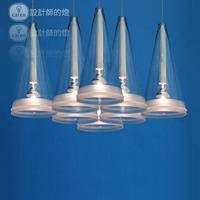 Modern brief classic 8 lamp fucsia begonia flowers pendant light