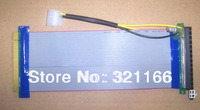 10pc HOT 20CM PCI-E 16X Slot Riser with Molex Extender Card Extension Ribbon Flex Relocate Cable for Bitcoin Miner Free Shipping