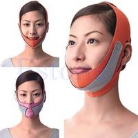 D19New Anti Wrinkle Half Lift V Face Line Slimming Up Cheek Mask Strap Belt